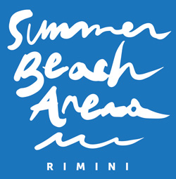 Summer beach arena